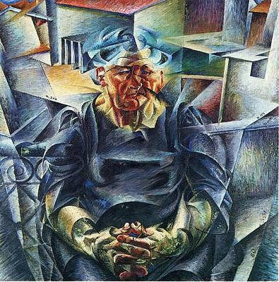 Boccioni Painting - Horizontal Volumes Umberto Boccioni by MotionAge Designs