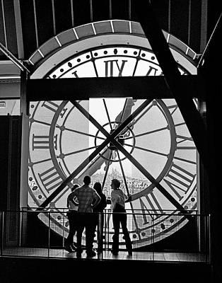 Sacre Coeur Photograph - Horloge D'orsay by Hans Mauli