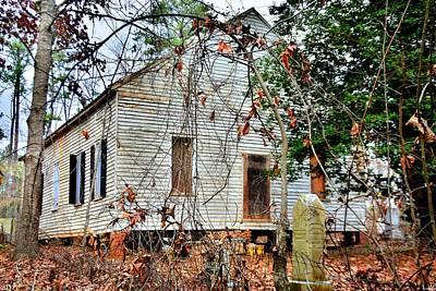 Photograph - Horn Creek Baptist Church And Cemetery by Lisa Wooten