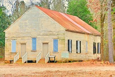 Photograph - Horn Creek Baptist Church by Lisa Wooten
