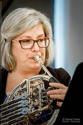 Photograph - Horn Music by Ronald Hoehn
