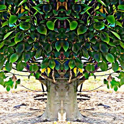 Metabolism Digital Art - Hornbeam Tree Essence by Pamela Storch