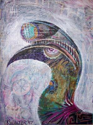 Hornbill Art Print by Dave Kwinter
