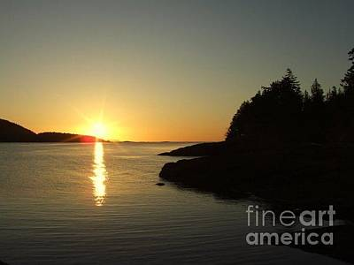 Hornby Island Photograph - Hornby Morning by Shannon Ireland
