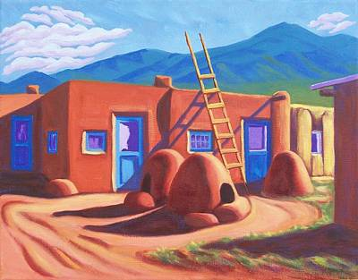 Painting - Horno De Pan Taos by Ruth Soller