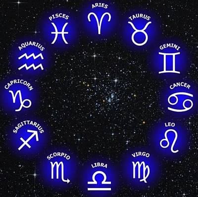 Mixed Media - Horoscope Saying by Sheila Mcdonald