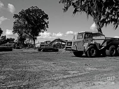 Photograph - Horrendous Machines by D Hackett