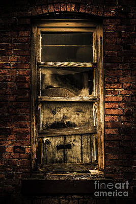 Horror House Window Art Print by Jorgo Photography - Wall Art Gallery