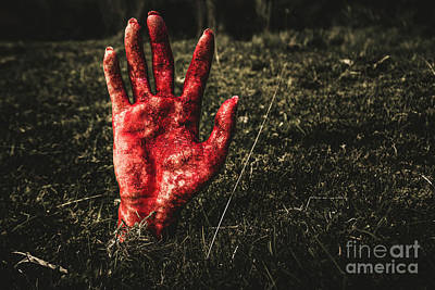 Zombies Photograph - Horror Resurrection by Jorgo Photography - Wall Art Gallery