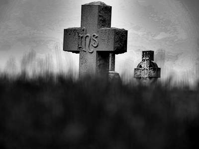Photograph - Horror Story Cross by Kyle West
