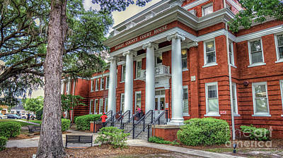 Photograph - Horry County Court House by David Smith