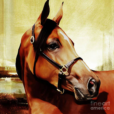 Landscap Painting - Horse # 341 by Gull G