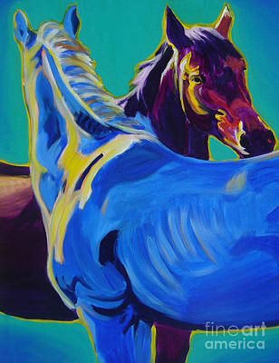Painting - Horse - Friendship by Alicia VanNoy Call
