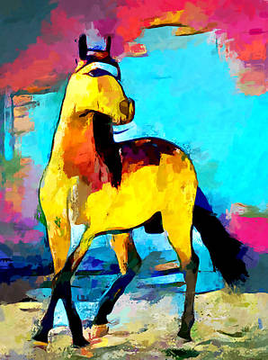 Royalty-Free and Rights-Managed Images - Horse 2 by Chris Butler