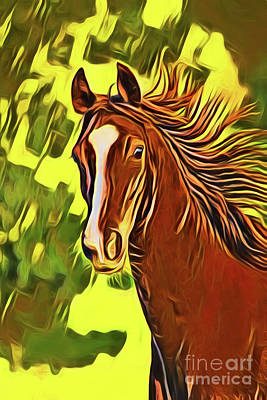 Photograph - Horse 20218 by Ray Shrewsberry