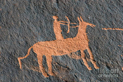 Ute Photograph - Horse And Arrow by David Lee Thompson