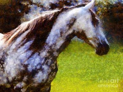 Photograph - Horse And I Will Wait For You by Janine Riley
