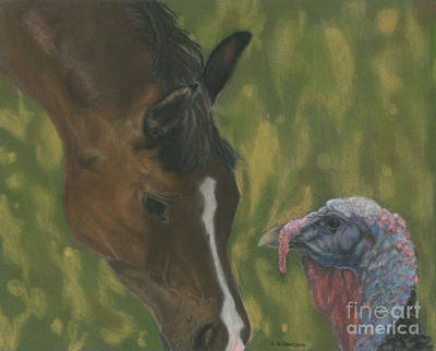 Horse And Turkey Original