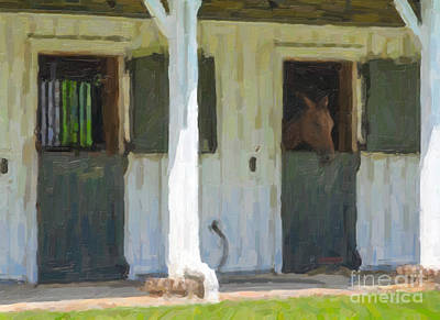 Photograph - Horse Barn by Dale Powell