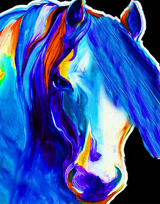 Horse Bobo By Nixo Art Print