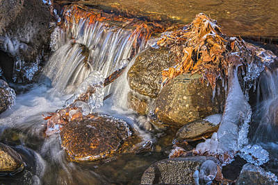 Photograph - Horse Chuck Creek Cascade by Angelo Marcialis
