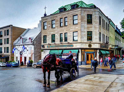 Photograph - Horse-drawn Carriage by Dave Thompsen