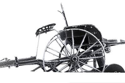 Photograph - Horse Drawn Drill by David Andersen