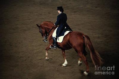 Photograph - Horse Dressage by Dimitar Hristov