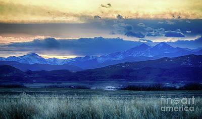 Photograph - Horse Eye Mountain View by Jon Burch Photography