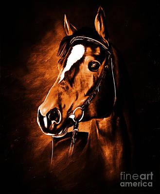 Horse Face Original by Gull G