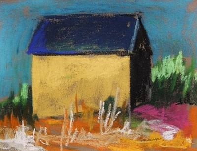 Jmwportfolio Painting - Horse Farm Barn by John Williams