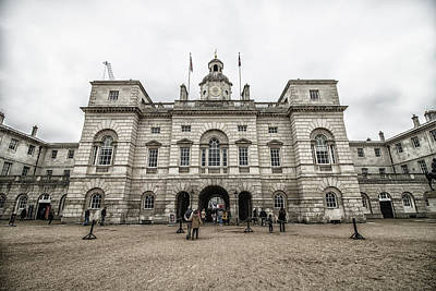 Red Queen Photograph - Horse Guards by Martin Newman