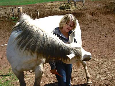 Photograph - Horse Hugs by Stephanie Moore