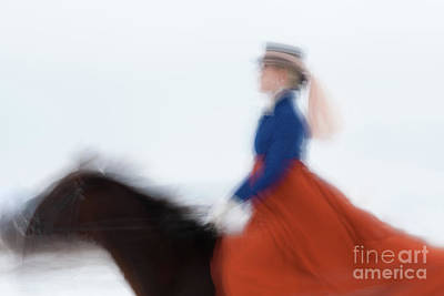 Photograph - Horse Hunt #8181 by Andrey Godyaykin