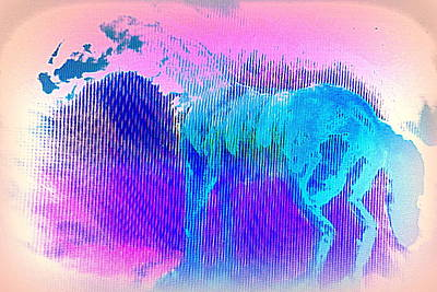 There Are Horses In Heaven Too  Art Print