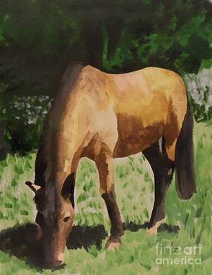 Painting - Horse by YoursByShores Isabella Shores
