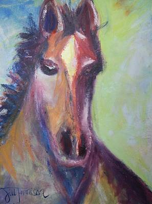 Painting - Horse by Jill Tennison