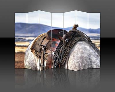 Mixed Media - Horse by Marvin Blaine