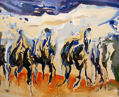 Painting - Horse Mountains by John Jr Gholson