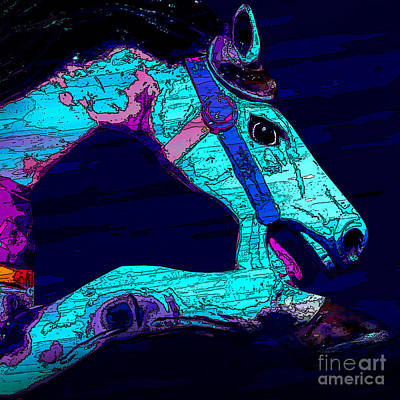 Photograph - Horse Of A Different Color by Michael Arend