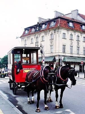 Photograph - Horse Omnibus by Dora Hathazi Mendes