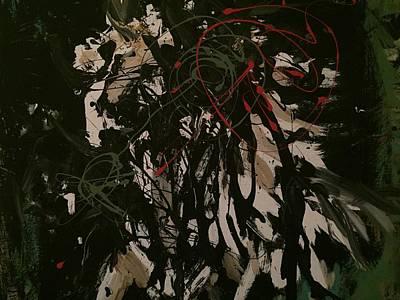 Horse On The Loose Original by Aleksandra Mihajlovic