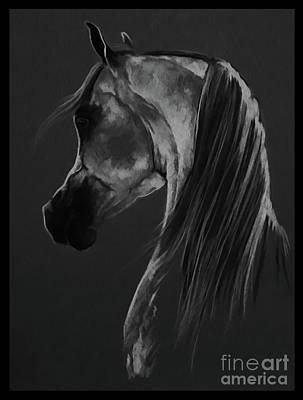 Horse Portrait 901 Art Print