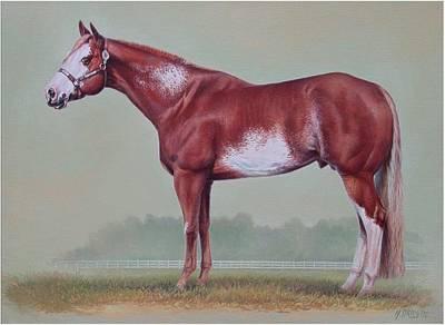 Painting - Horse Portrait by Hans Droog