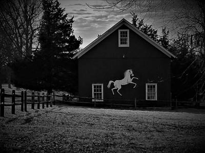 Photograph - Horse Ranch 1 by Rob Hans
