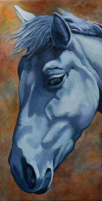 Painting - Horse by Rebecca Ives