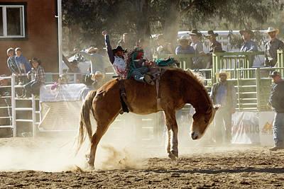 Photograph - Horse Riding 1 by John Swartz