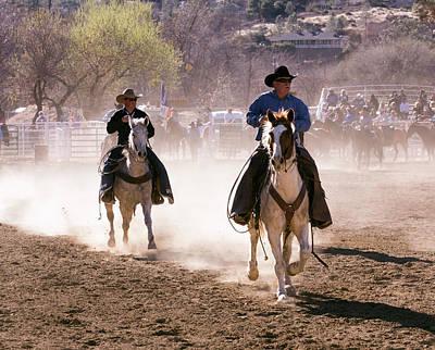Photograph - Horse Riding 2 by John Swartz