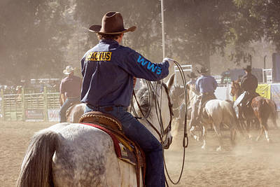 Photograph - Horse Riding 3 by John Swartz