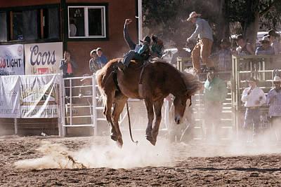 Photograph - Horse Riding by John Swartz